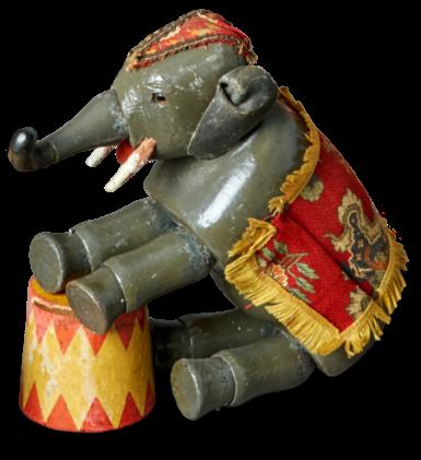 Old Elephant Toy