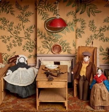 Old Doll Set - Interior